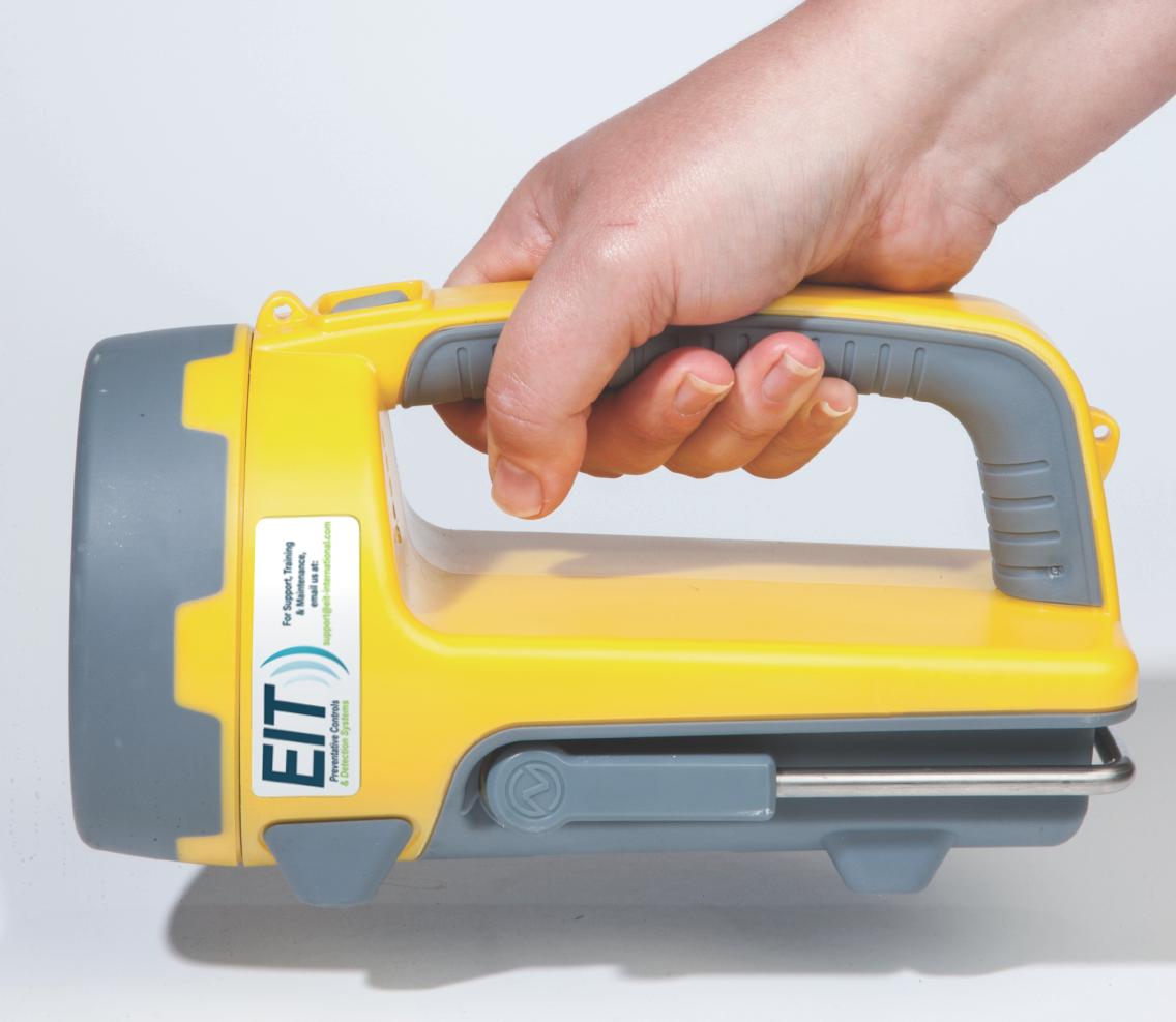 Bactiscan with EIT sticker